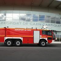 véhicule Sides à l'aéroport de Caen