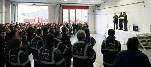 Lancement du 100ème S3X camion aéroportuaire de luttre contre les incendies normalisé france
