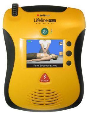 Defibrillateur VIEW_DEFIBTECH
