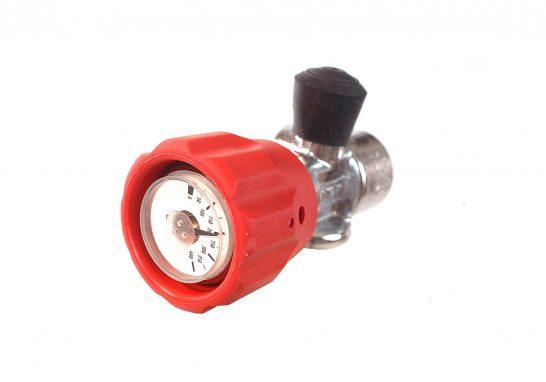 ST - 1824097 - 9L 300B composite cylinder with integrated gauge